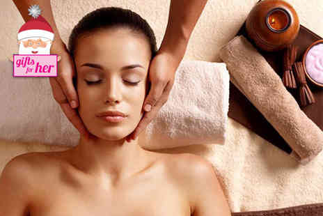 Neda Spa Hair & Beauty - Luxury pamper package for one including a facial, manicure and back scrub - Save 85%