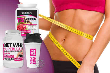 The Protein Lab - Super Lean Diet Whey and T5 bundle with a shake bottle  - Save 80%