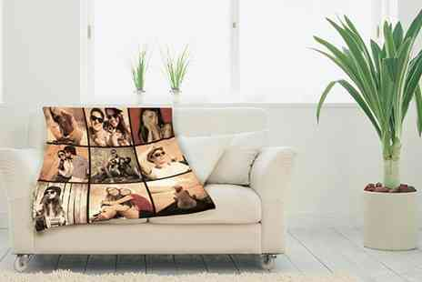 Great Photo Gifts - Small photo blanket - Save 50%