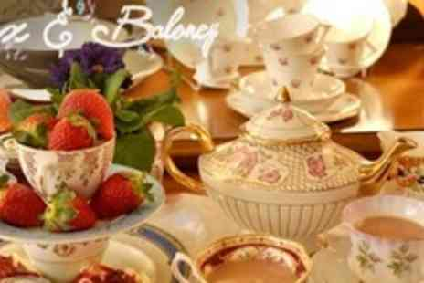 Cox and Baloney - Vintage Afternoon Tea and Shopping Experience For Two - Save 64%