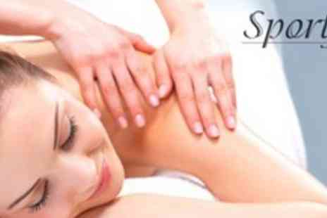 Sportfix - Choice of 60 Minute Massage Including Swedish, Sports Injury and Holistic - Save 65%