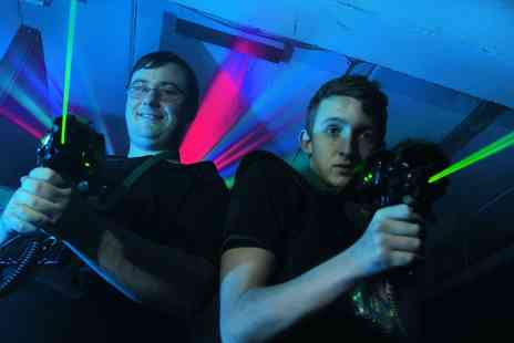 Lazer World - One Month of Laser Tag for Up to Four  - Save 83%