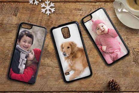 LivingSocial Shop  - Personalised iPhone or Samsung Phone Case - Save 64%