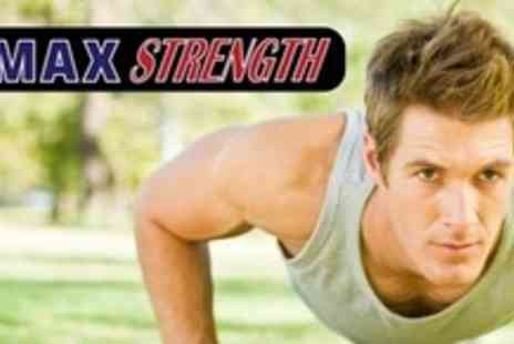 Max Strength - 16 Boot Camp Sessions - Save 76%