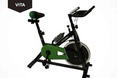 LivingSocial Shop  - Indoor Racing Exercise Bike - Save 50%