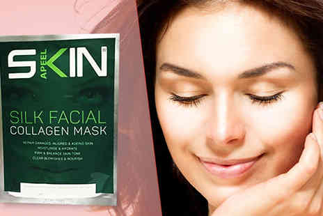 Forever Cosmetics - Skinapeel Silk Collagen Mask Five Pack - Save 47%