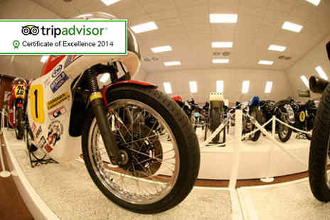 National Motorcycle Museum - Two adult tickets to the National Motorcycle Museum - Save 50%