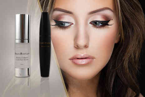 Beaut Boutique - 15ml under eye collagen serum and brush on lashes - Save 80%