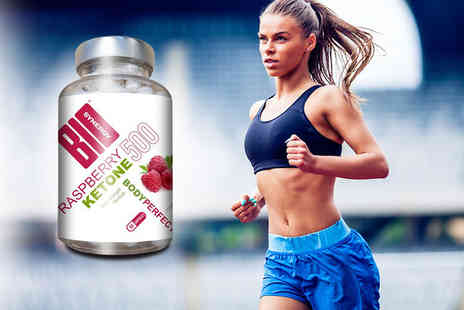 Bio Synergy - 60 capsules of double strength raspberry ketone - Save 64%