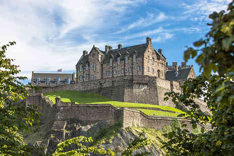 Holiday Desire - One night Edinburgh getaway, including flights and breakfast - Save 28%