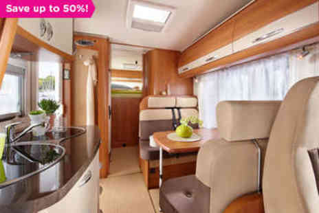 Island Motor Homes - Luxury Motorhome Holiday for Up to Six - Save 50%