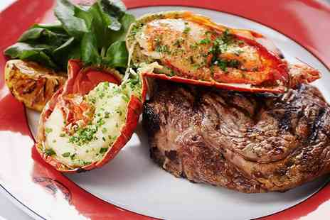 Boisdale of Belgravia - Steak and Lobster with Prosecco for Two - Save 57%