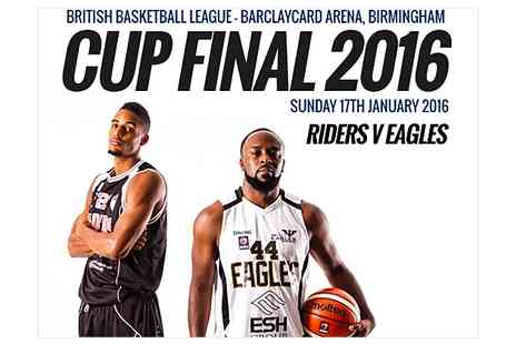 Basket Ball League - One Ticket to British Basketball League Cup Final - Save 56%