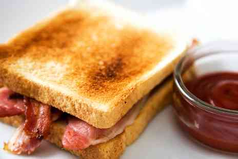 Avanti Caffe - Choice of Sandwich and a Hot Drink for One - Save 0%