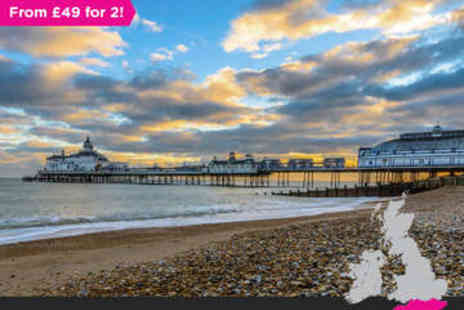 Waterside Boutique Hotel - One night in East Sussex Seaside Break for two- Save 48%