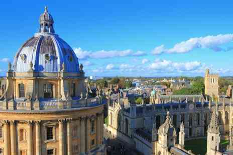 Jurys Inn - One or Two Night in Oxford stay with breakfast & optional city tour - Save 38%
