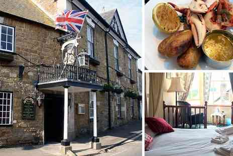 UK Minibreak - Two night B&B Break  for two in Abbotsbury - Save 46%