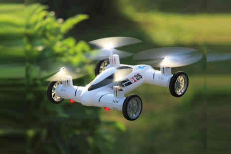 HK J and Y International Trading - Airphibian Dual Function Flying Car - Save 26%