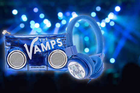 eOutlet -  The Vamps headphone and speaker purse bundle  - Save 56%