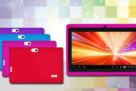 tecwizz - 7 Inch Children's Android Tablet with Shockproof Case - Save 78%
