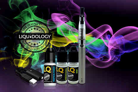 Liquidology - E cigarette starter kit - Save 73%