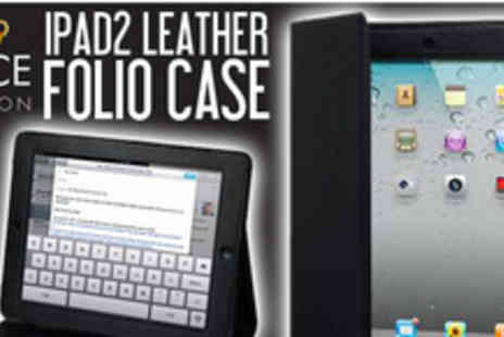 Kace London - Protect your iPad 2 with this great looking folio case - Save 73%