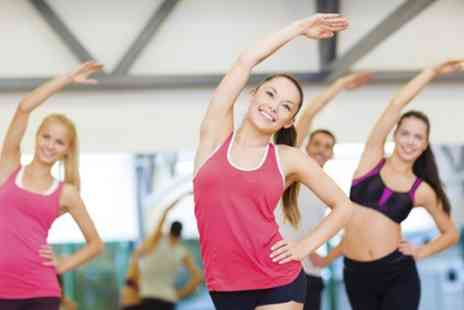 London Fitness Classes - Insanity, Hiit, Pilates, Yoga, or Zumba Up to 50 Sessions  - Save 66%