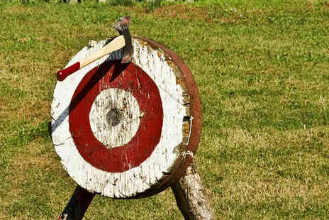 1066 Target Sports -  One hour axe throwing experience  - Save 53%
