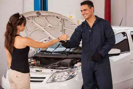 Ultimate Body Shop - Full winter car service including coolant, battery, tyre and light checks - Save 74%