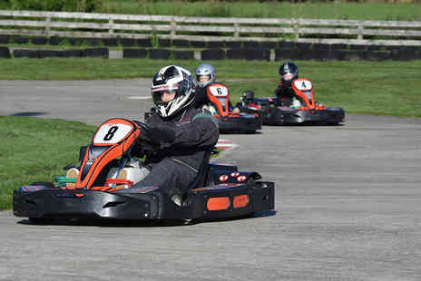 Whilton Mill - 30 laps of outdoor go karting for one - Save 0%