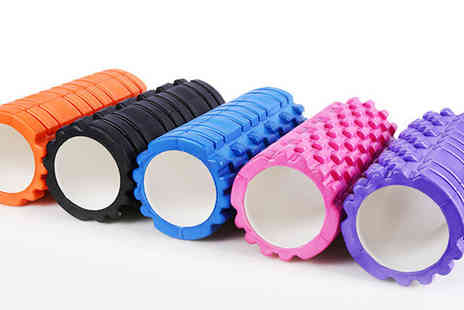 Active Human - 3D grid trigger point foam roller  - Save 80%