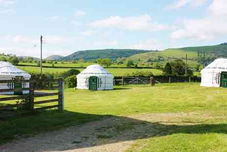 Barnutopia - Two night midweek yurt stay for up to four  - Save 45%