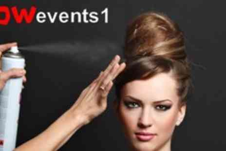 WOW Events - Full day hair styling course Plus £10 online voucher - Save 71%
