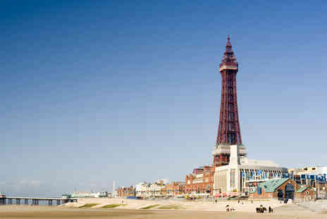 The New Osborne Hotel - Two night Blackpool seafront break for Two, including breakfast and wine - Save 57%