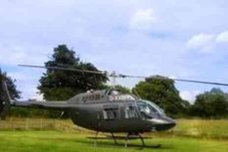 HH Helicopter - 20-minute helicopter ride over The Garden of England - Save 68%