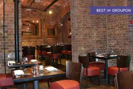 Chamberlains Restaurant - Five Course Taster Menu with Prosecco for Two - Save 52%
