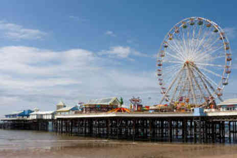 Brioni Hotel - Two Night Seafront Stay in Blackpool - Save 44%