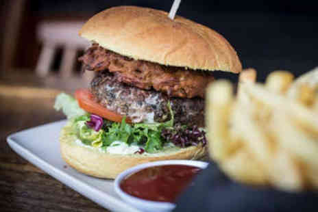 The Banyan Tree - Choice of Burger with Hand Cut Chips and Beer - Save 0%