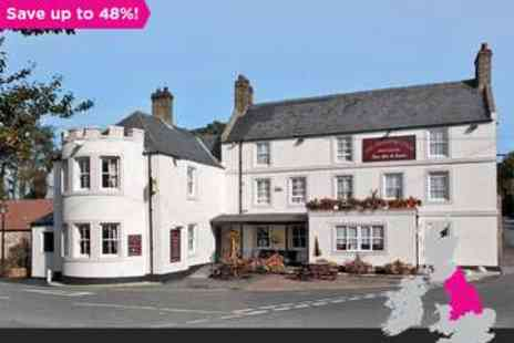 The Anglers Arms - One night in  Northumberland Coaching Inn - Save 48%