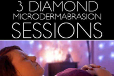Shape Up And Tone Down - Say hello to silky smooth skin with 3 Microdermabrasion sessions - Save 70%
