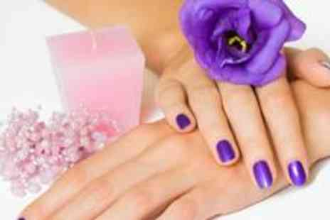 The Glam Lounge by Flawless - Shellac manicure and pedicure - Save 72%