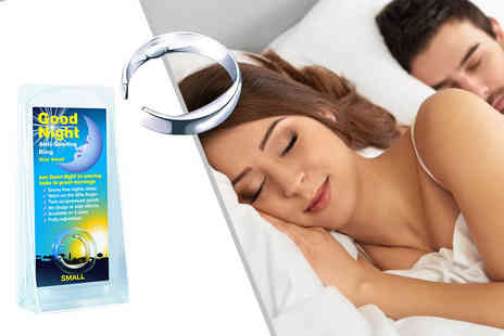 Gift right - Anti Snore Sleeping Aid Ring   - Save 83%