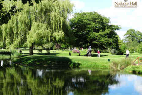 Nailcote Hall - 18 Holes of Golf with a Bacon Roll for Two - Save 52%