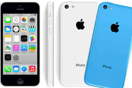 GRS - iPhone 5C 16GB White or Blue - Save 56%