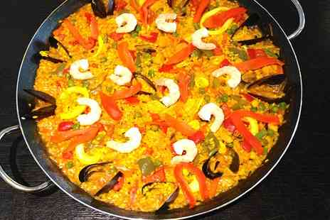 La Taberna - Paella or Tapas with a Jug of Sangria for Two - Save 47%