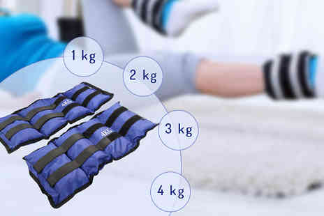 Shop Monk - 1 kg Set of Ankle Weights - Save 65%