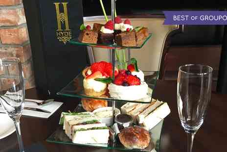 Hyde Glasgow - Afternoon Tea with Prosecco for Two - Save 0%
