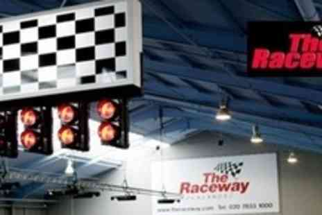 The Raceway - 90 Minute Go Karting Experience With Food, Drink and Minibus Transfers - Save 67%