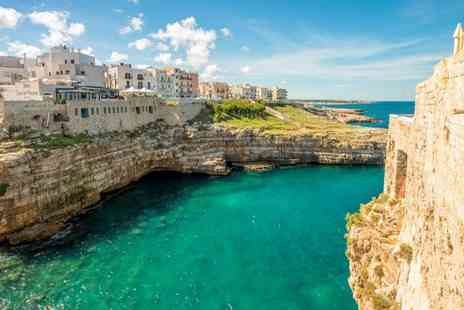 Puglia Round Trip - Road trip through southern Italy for Seven or Ten Nights stay with flights, hotels & car rental - Save 0%