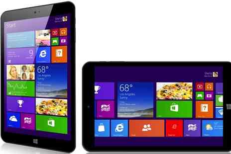 Bibi International - Windows Intel Quad Core 8.1 Tablet PC 32GB - Save 59%